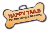 Happy Tails Pet Grooming and Boarding Logo