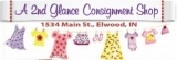 A 2nd Glance Consignment Shop Logo