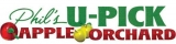 Phil's U-Pick Apple Orchard Logo