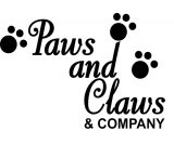 Paws and Claws and Company Logo