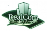 Real Com Cleaning Service Logo