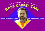 Rob's Carpet Care Logo