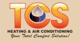 TCS Heating & Air Conditioning Logo