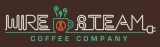 Wire Steam Coffee Company Logo